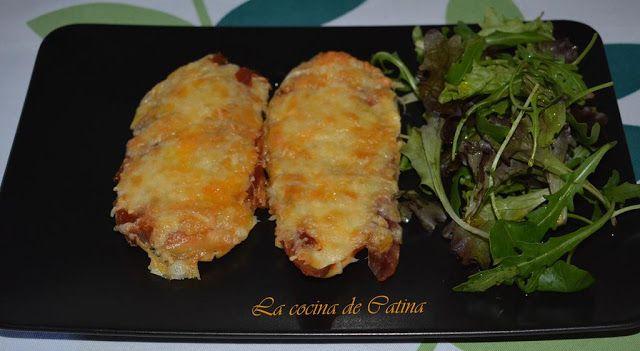 La cocina de Catina: Pechugas de pollo con jamón y queso.