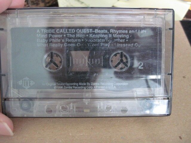 A TRIBE CALLED QUEST BEATS, RHYMES AND LIFE CASSETTE JIVE HIP HOP TAPE USA