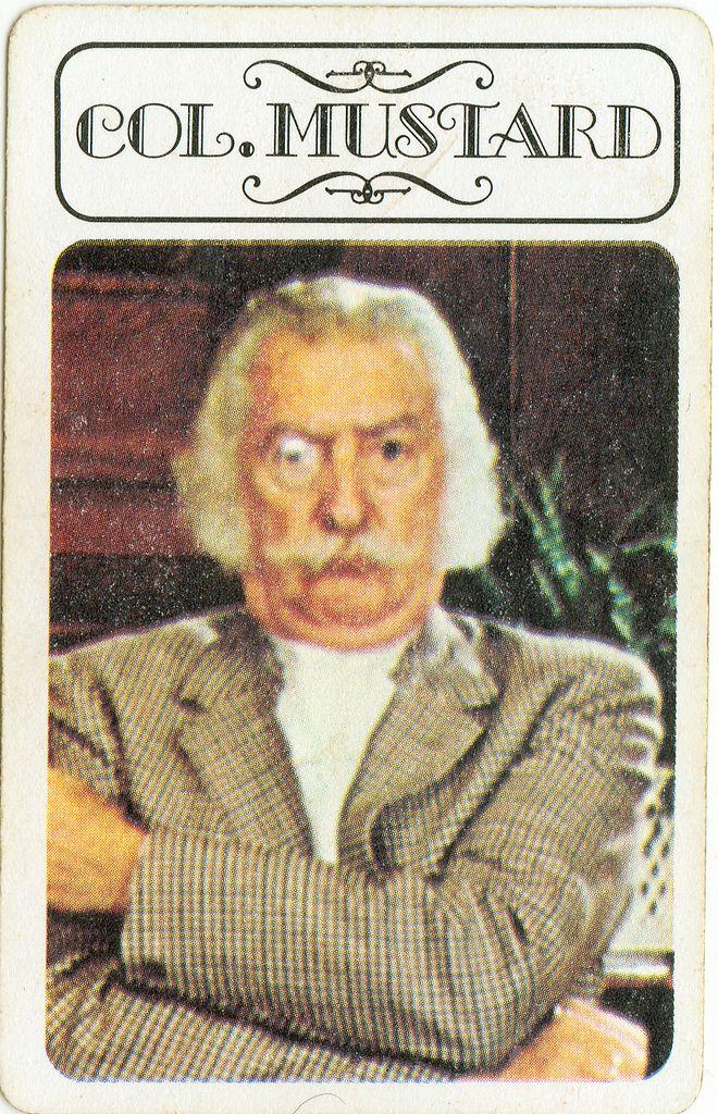 Résultats de recherche d'images pour «colonel mustard»