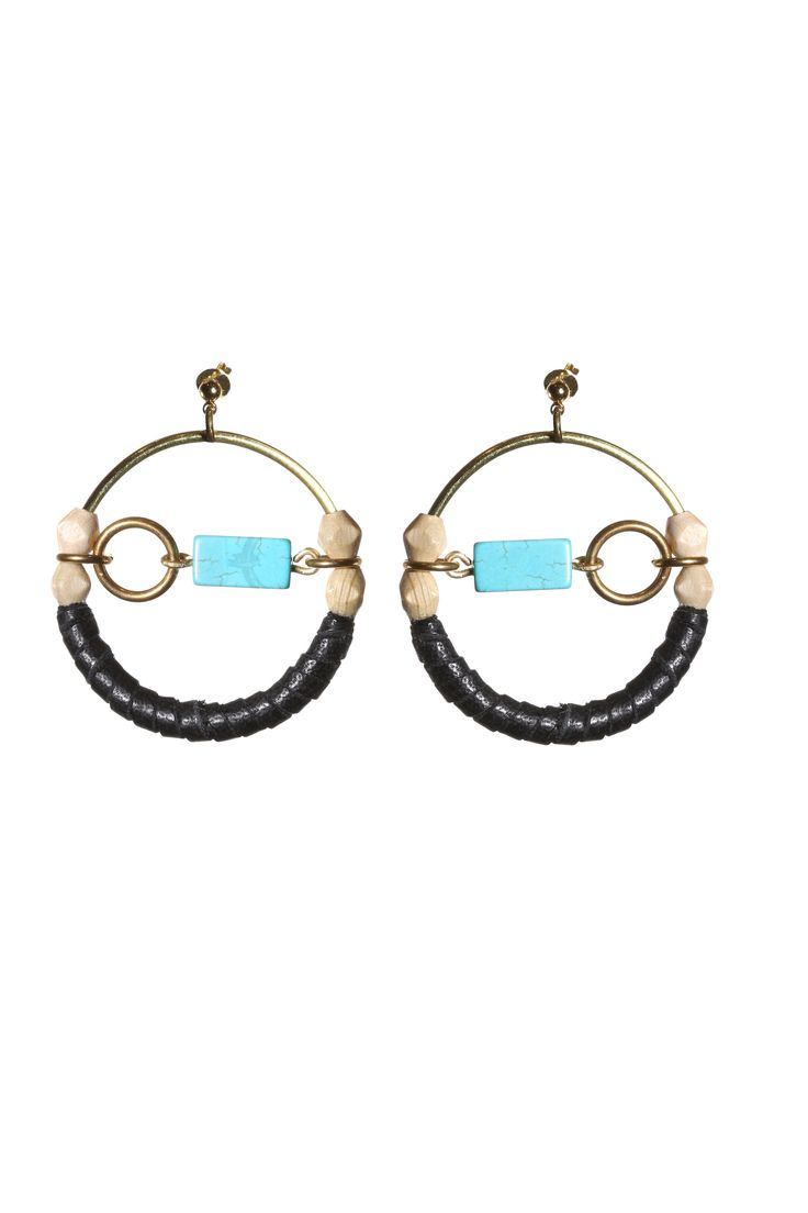 Travers Earrings- Turquoise