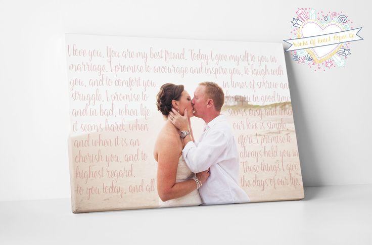 Wedding Vows Gift: Best 25+ Wedding Vow Art Ideas On Pinterest