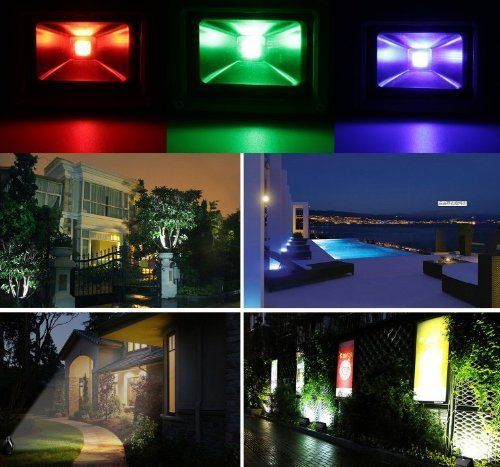 inexpensive colored led outdoor flood lights for uplighting