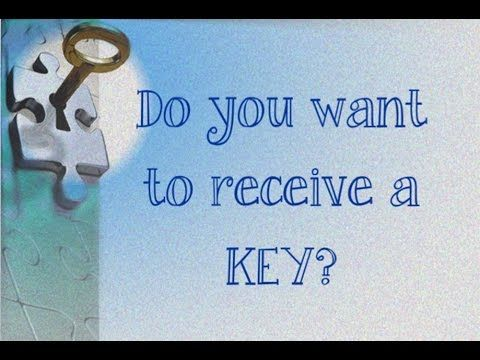 Do you want to receive a KEY