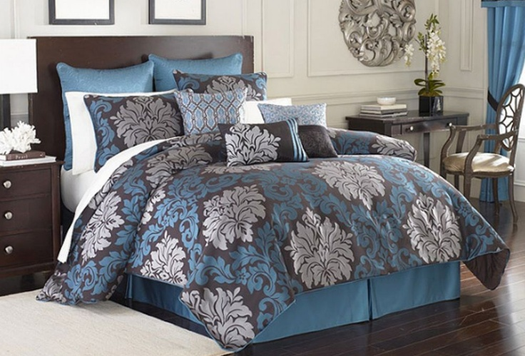 Details about Royal Velvet Chamberlain Oversize King Comforter Set  Bedroom ideas  Oversized