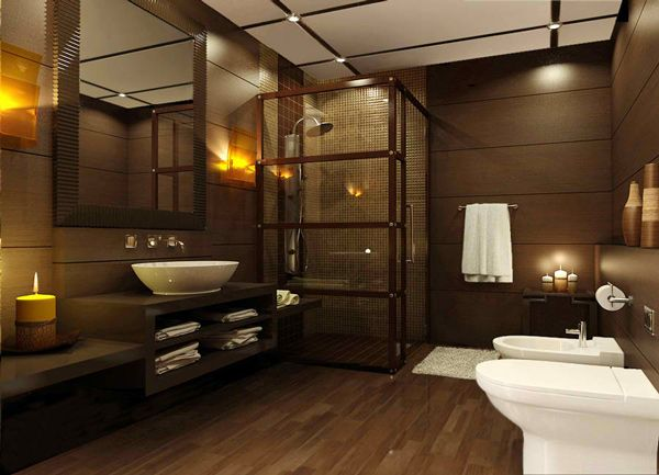 Best 25 brown bathrooms designs ideas on pinterest for Bathroom ideas tan