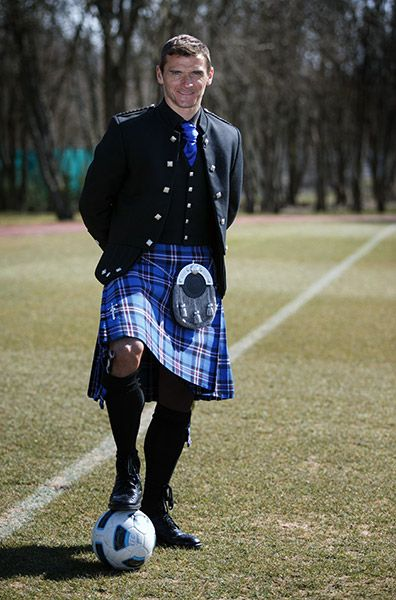 McCalls News - Rangers captain Lee McCulloch has given his backing to the club's official tartan.