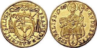 Coin...  SAMMLUNG KARL POLLAK GEISTLICHKEIT Salzburg Franz Anton von Harrach