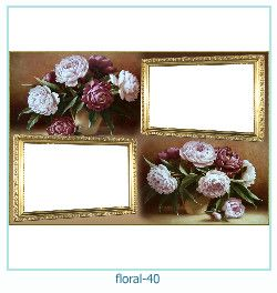 Floral Collages Frames 40