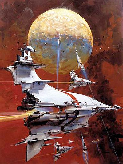 John Berkey   #science #fiction #space  all these PIN'S r for my grandson's scrapbook.......B