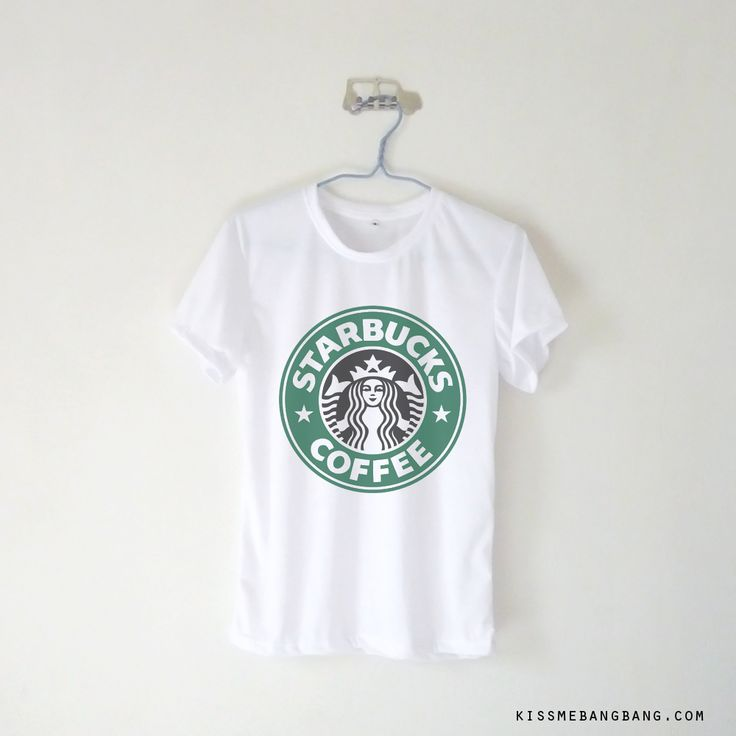Starbucks Coffee T-shirt $12.99 ; Coffee Lover Shirt ; Hot & Black ; #Tumblr ; #Hipster Teen Fashion ; Shop More Tumblr Graphic Tees at http://kissmebangbang.com/product-category/tumblr-inspired/