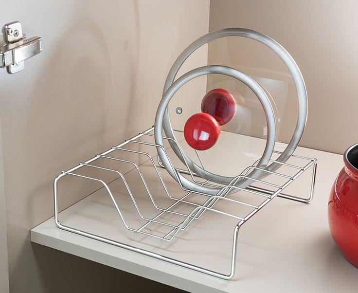 Organizador de tampas de panela - Cozinha | Ordenato!