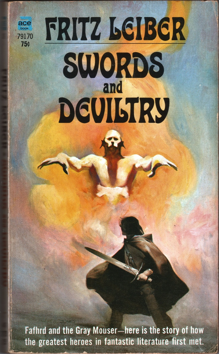 Cover Artist: Jeff (catherine) Jones Fritz Leiber's First Book Featuring  Fafhrd And