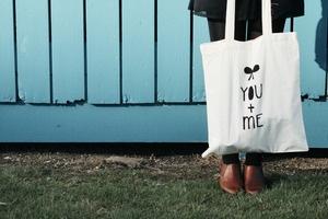 screen printed totes