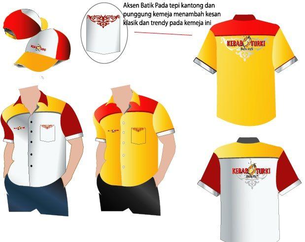 Sribu Office Uniform Clothing Design Kebab Turki Baba Raf Clothes Design Clothes Office Uniform