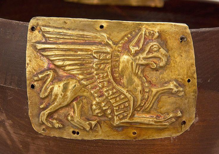Scythian ....... Looks very similar to the Welsh dragon emblem