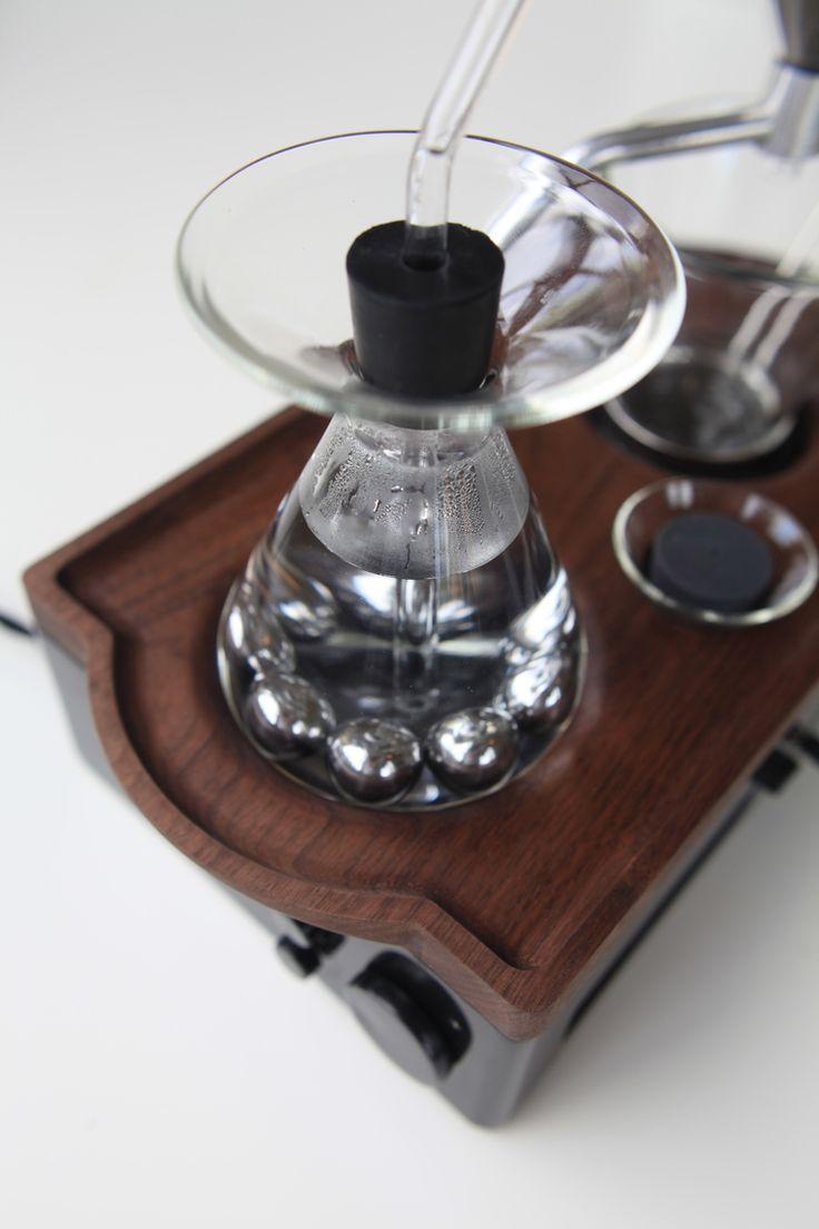 Barisieur coffee brewing alarm clock wake up to fresh