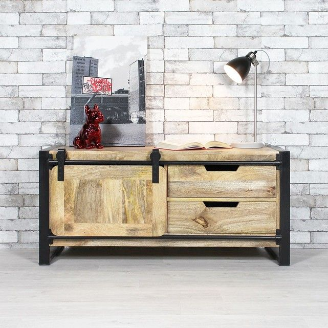 9 best meuble tv images on Pinterest Living room, Solid oak and - ausgefallene mobel lcd tv stander mario bellini