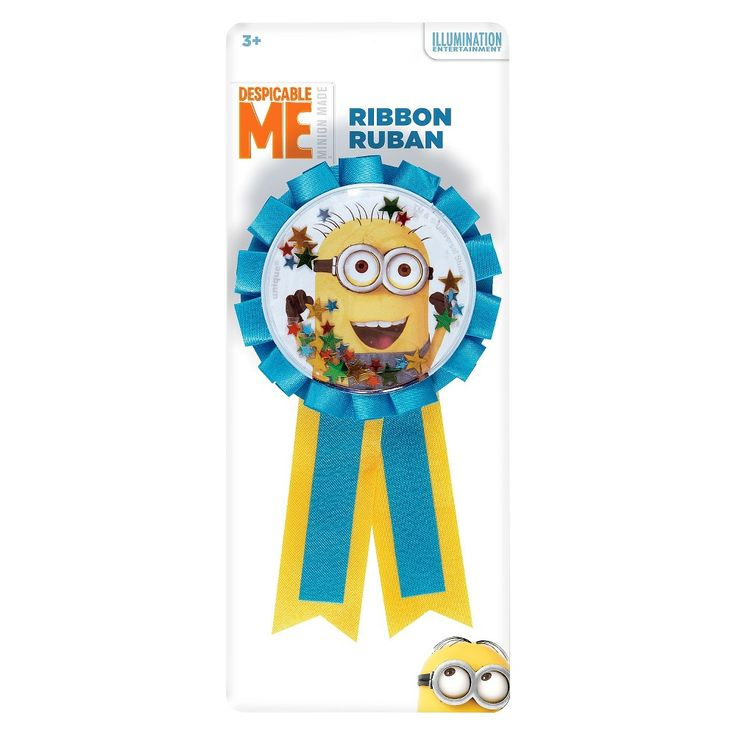 Despicable Me Blue Ribbon, Yellow