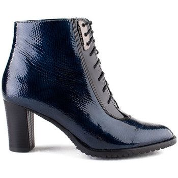 Botki Marco Shoes 0120B-125-021-1 granatowe botki