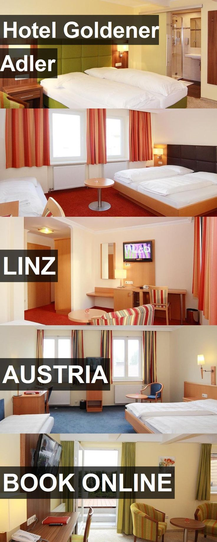 Hotel Goldener Adler in Linz, Austria. For more information, photos, reviews and best prices please follow the link. #Austria #Linz #travel #vacation #hotel