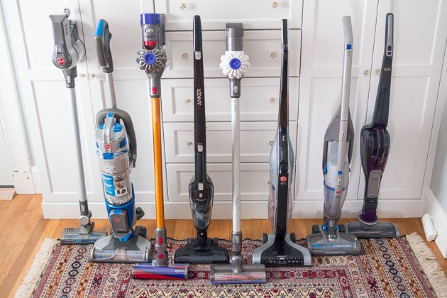 cordless vacuum group testing