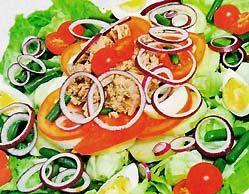 Салаты с тунцом рецепты