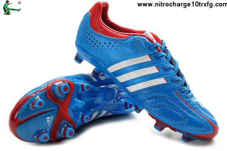 Best Gift Adidas adiPure 11Pro TRX FG - Bright Blue-Running White-Infrared Soccer Boots For Sale