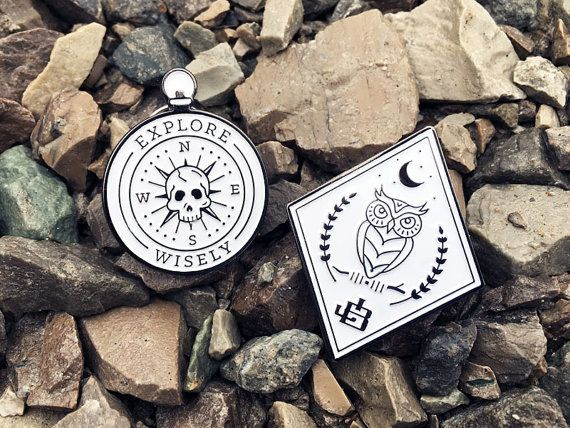 This set of soft enamel pins are made from high quality black nickel. Easily pins to your bag, shirt, jeans, or whatever you want!  I couldnt be more