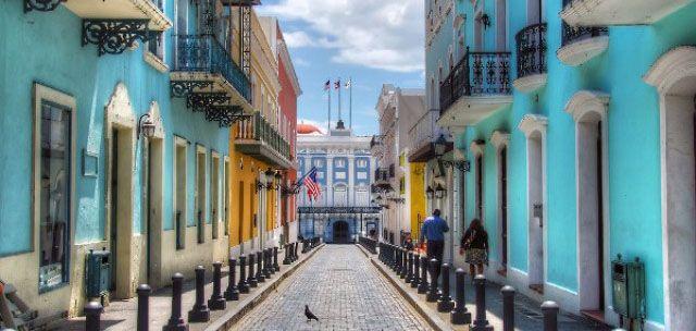 1er mai 2016 - Porto Rico peine à rembourser ses dettes.  Le vieux San Juan