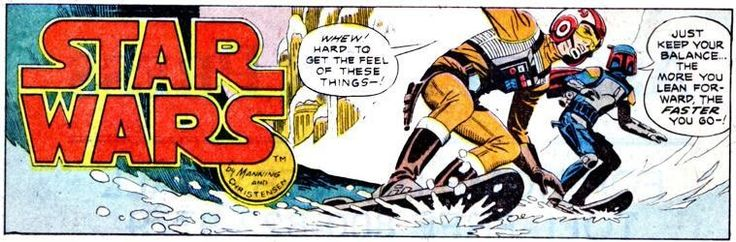 Classic Star Wars Comics are terrific for using as Story Starters.
