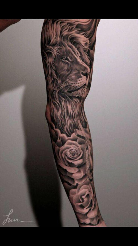 England Sleeve Tattoo Designs: Nice Sleeve And