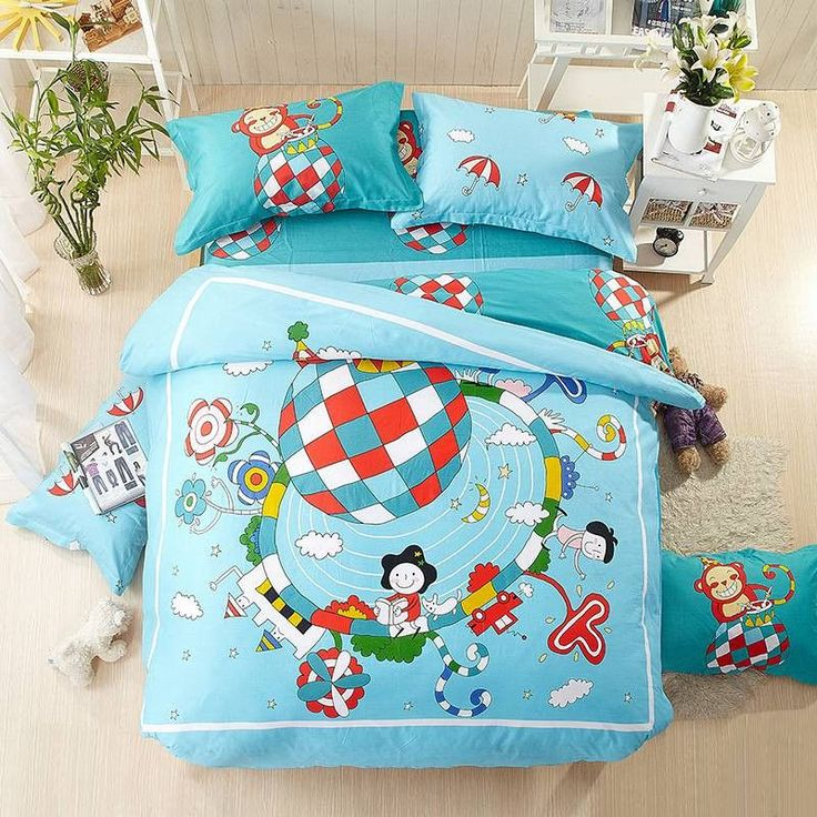 Sports Brand Bedding best Christmas Girls for him 100% cotton bed sheets bed linen Adults/kids bedding set edredon nordico