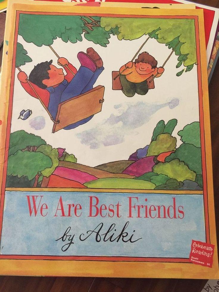 34 mejores imgenes de teacher oversized big books en pinterest teacher big book we are best friends oversized by aliki fandeluxe Images