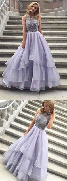 Newest O-Neck A-Line Prom Dresses,Long Prom Dresses,Cheap Prom Dresses, Evening Dress Prom Gowns, Formal Women Dress,Prom Dress