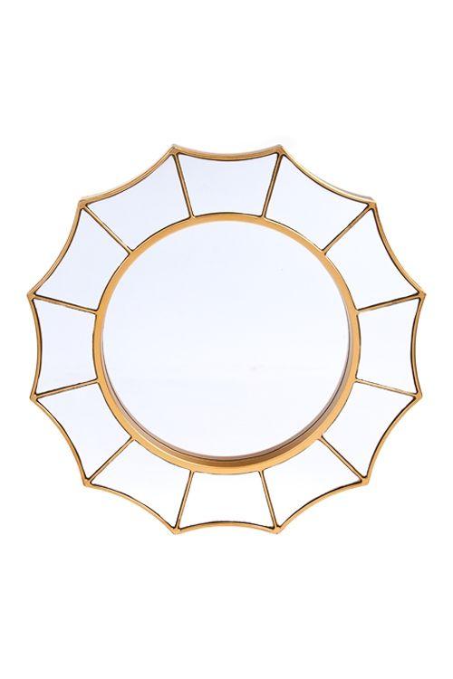 Купить Зеркало настенное Солнечное настроение за 342 руб.   Красный Куб