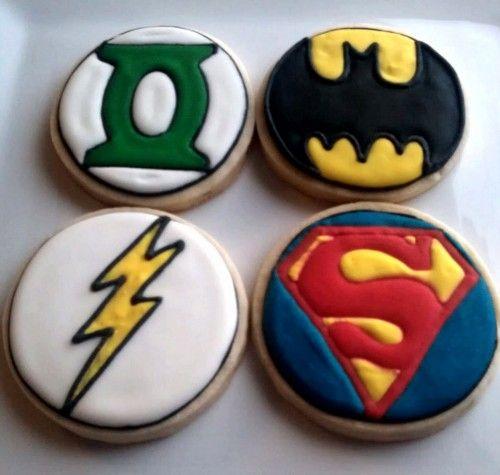 sablés superman batman super héros