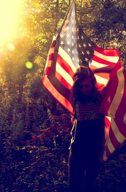 Summer holiday weekend 4th of July American pride