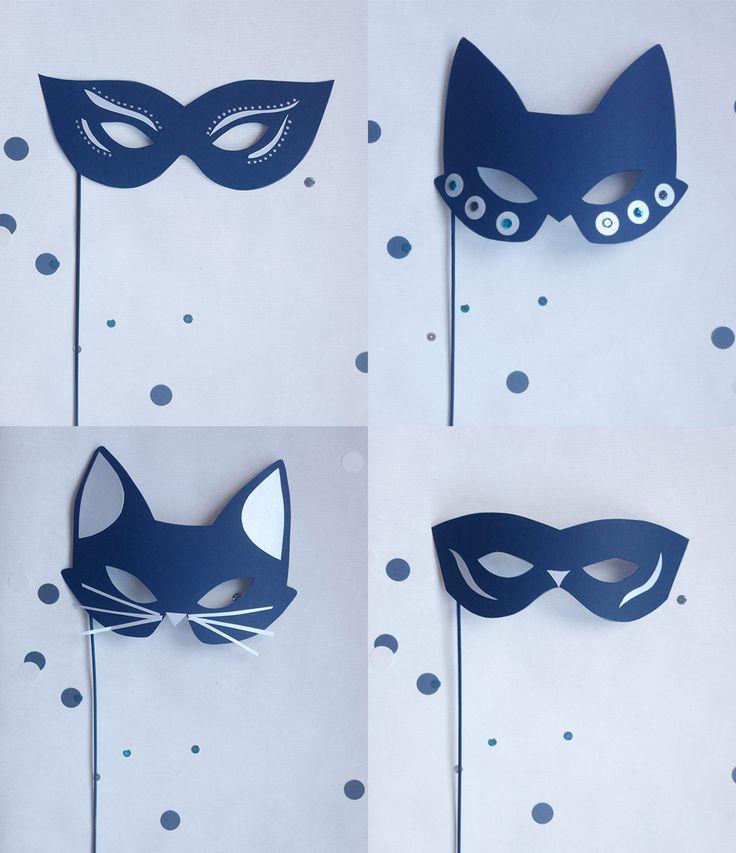 DIY : Des masques en papier pour les fêtes