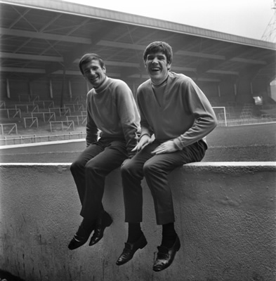 Tommy Smith and Emlyn Hughes