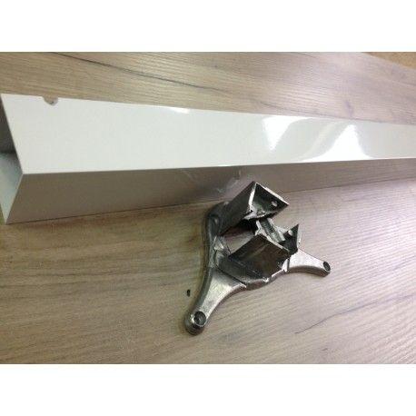 Noga do stołu kwadratowa biała 710