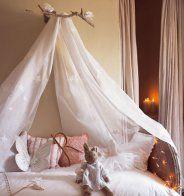 Fabriquer un ciel de lit - Marie Claire Maison