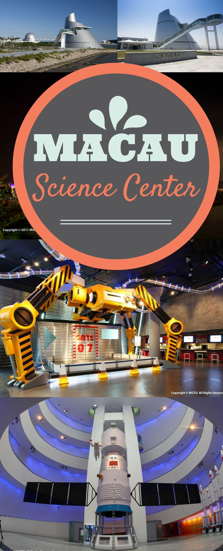 Learn from Macau's Science Center.