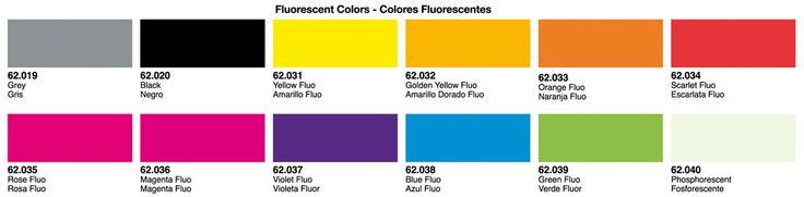 Oferta en pintura al agua Vallejo Premium para aerógrafo. Colores Fluo. 5ª unidad a mitad de precio.