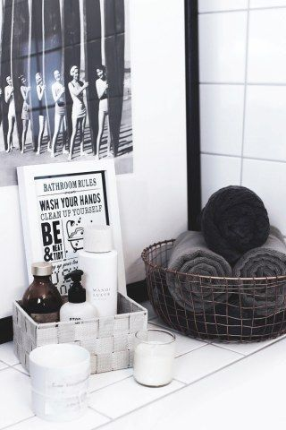 Pimp the bathroom: With THIS 18 tricks, your bathroom will be super stylish!