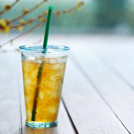 Starbucks Recycled Glass Cold Cup, 16 fl oz $9.95 at StarbucksStore.com