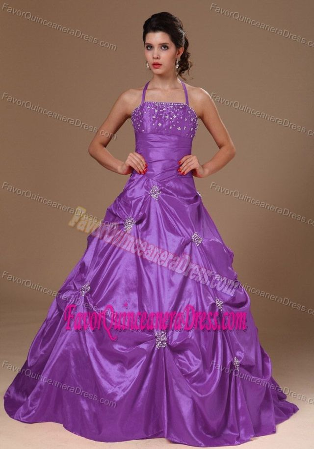 16 best Custom Made Strapless Beading and Handle Flowers Quinceanera ...