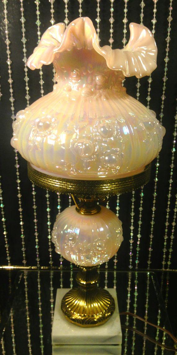 59 Best Images About Fenton Lamps On Pinterest Cobalt