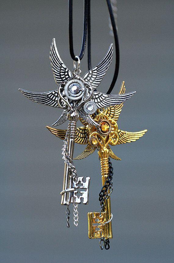 Epic Key Necklace Set by KeypersCove on Etsy, $85.00