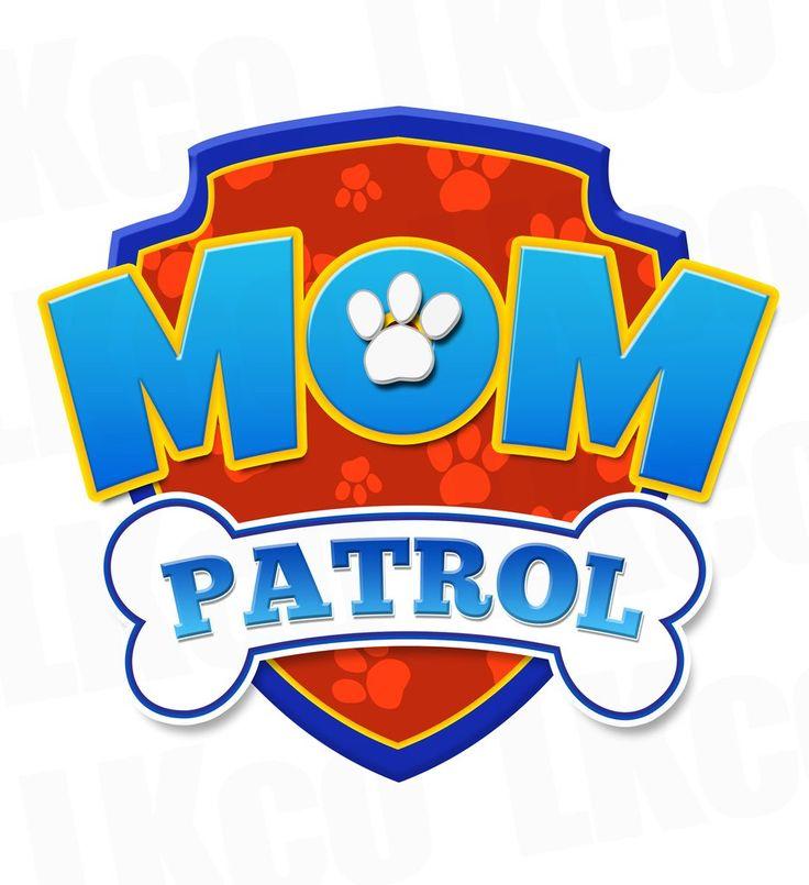 Paw Patrol Iron On Transfer - Mom Patrol