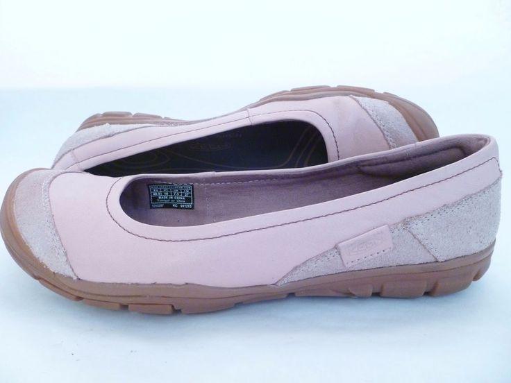 KEEN Womens Size 10 Rivington Ballerina CNX Pink Lotus Ballet Flat Shoes Leather #KEEN #BalletFlats #Casual
